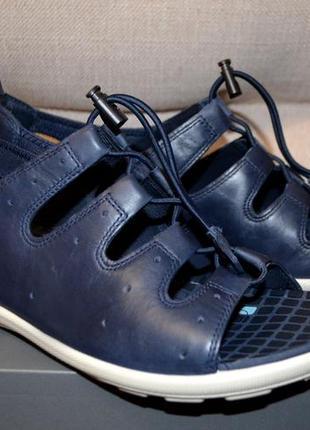 Кожаные сандалии босоножки ecco jab 42 размер 27.5 см 14d5abde87970