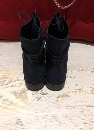 Фирменные ботинки marco tozzi 40р./26 см4 фото