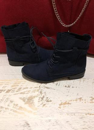 Фирменные ботинки marco tozzi 40р./26 см