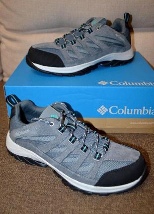 Трекинговые кожаные кроссовки ботинки columbia crestwood 41 р 27.5 см
