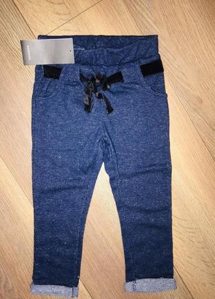 Rezerved брюки для девочки рост 98 см
