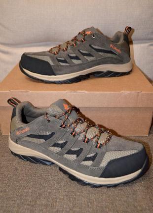 Кожаные кроссовки ботинки columbia crestwood 13us 47 р 31 см