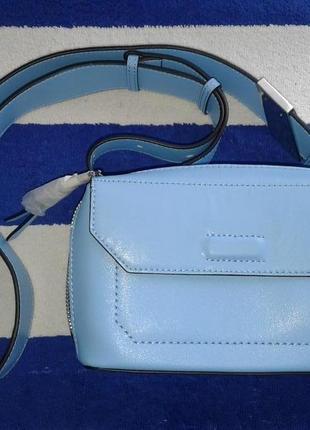 Продам красивую голубую сумку calvin klein оригинал