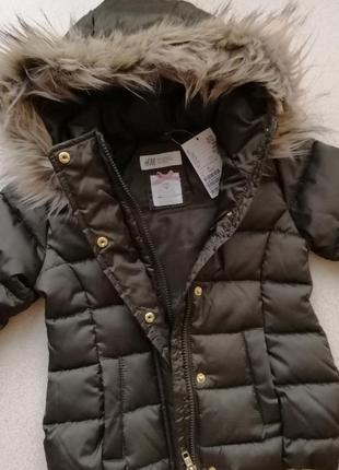 Куртка на 1-2 года h&m