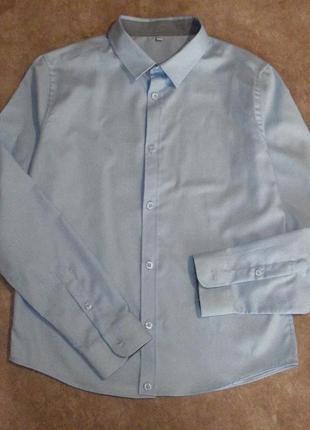 Красивая рубашка 12-13 лет  100% хлопок