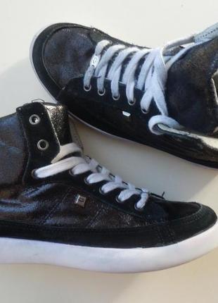 Кожаные ботинки manfield 38р 24, 5см