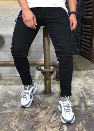 Черные мужские джинсы zara