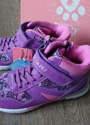 Деми ботинки хайтопы biki tom.m 27-32