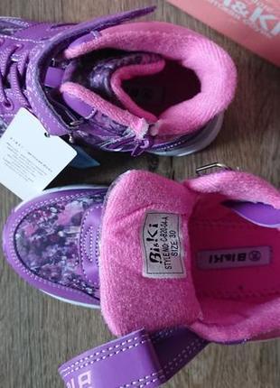 Деми ботинки хайтопы biki tom.m 27-324