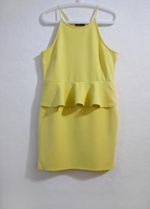Стрейчевое платье сарафан