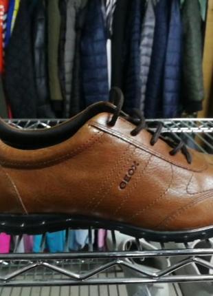 Туфли шкіряні чоловічі geox respira