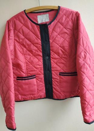 Демисезонная стеганная курточка
