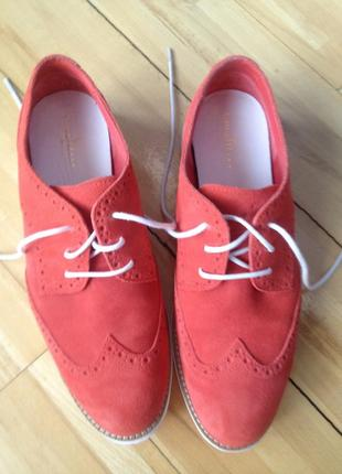 Туфли из замша cole haan