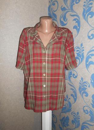Льняная рубашка eastex