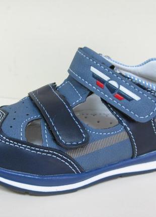 Открытые летние туфли для мальчика