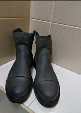 Ботинки из натуральной кожи, италия2