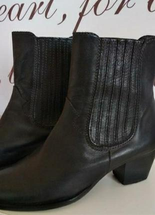 Ботинки италия, натуральная кожа