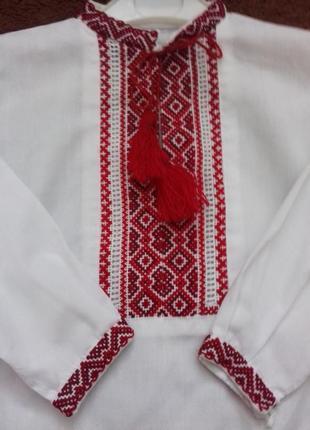 Вишиванка вишита сорочка для хлопчика e2b88037e7ea6