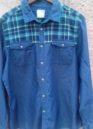 Рубашка  джинсовая burton