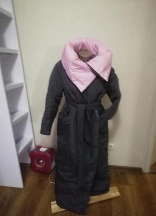 Очень теплое пальто одеяло