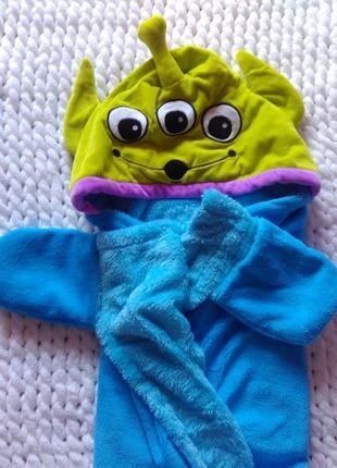 Крутое детское полотенце с капюшоном!...