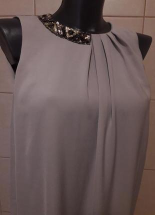 Очень красивое,эффектное,коктейльное,вечернее,нарядное,яркое платье-баллон