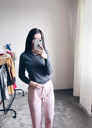 Розовые штаны для дома, пижамные штаны