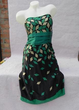 Платье шелк monsoon