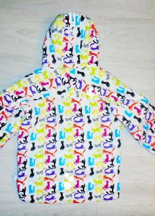 Шикарная куртка kilpi с кошками в отличном состоянии4 фото