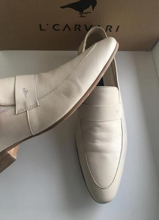 Туфли luciano carvari натуральная кожа!