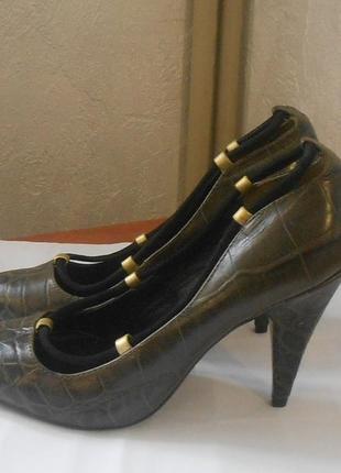 Стильные фирменные туфли лодочки reiss, р.36 код k3602