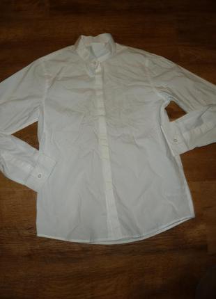 Next белая рубашка некст на 11 лет под бабочку
