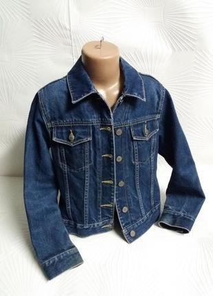 Крутой джинсовый пиджак gap