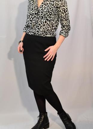2717\20  блуза из хлопка с леопардовым принтом h&m m