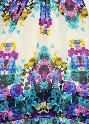 Красивое шифоновое платье в цвета4 фото