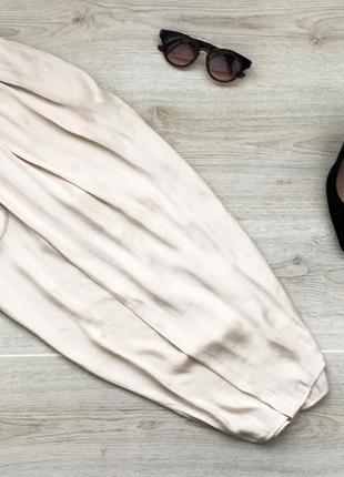 Актуальные капри/бриджи под юбку на запах zara