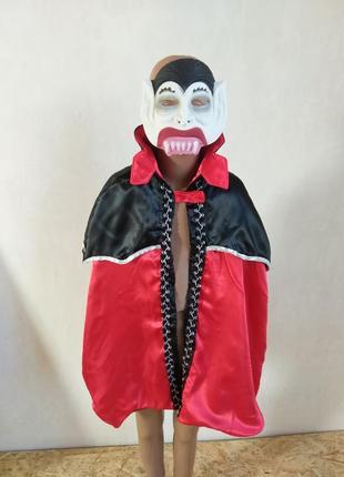Карнавальный костюм вампир граф дракула по бирке 4-6 лет можно старше