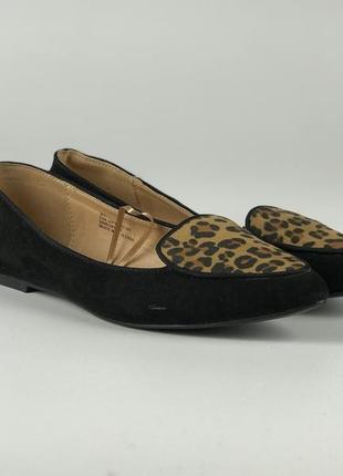 Красивые балетки с леопардовыми вставками  sh1910092  george4 фото