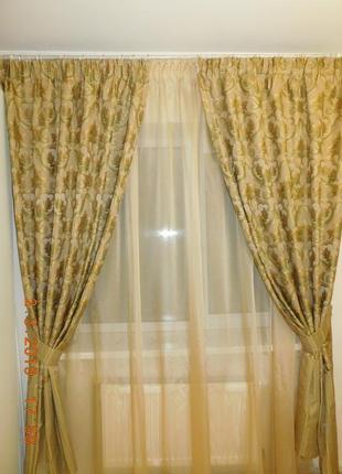 Шторы для кабинета, гостиной, спальни
