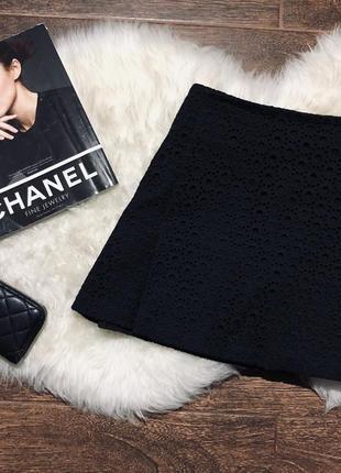 Шикарная кружевная юбка мирового дизайнера