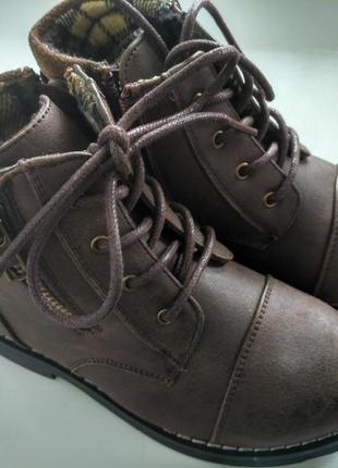 Ботиночки демисезон ботинки деми river island c8 весна осінь черевики черевички