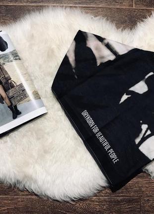 Шикарный платочек(шаль,хусточка) с шёлком drykorn for beautiful people
