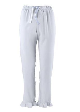 Нежные пижамные штаны 7/8 для сна и отдыха р.м esmara германия