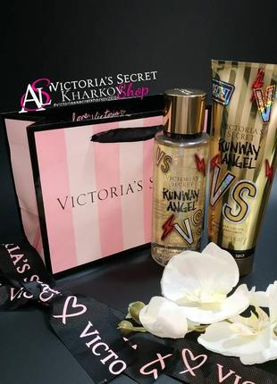 Набор runway angel gold мист лосьон victoria's secret