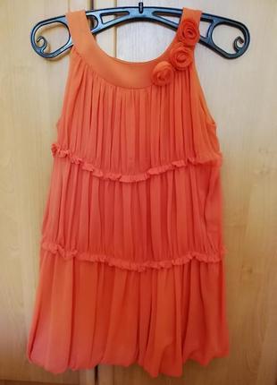 Нарядно платье для девочки подростка mayoral