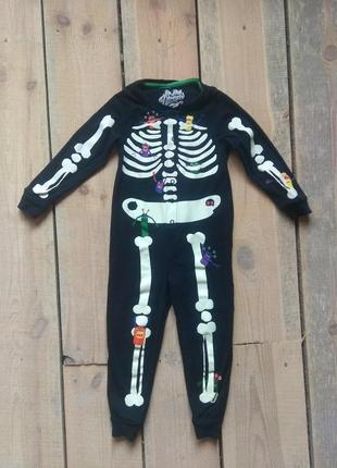 Карнавальный костюм скелет кощей 4-6 лет на хэллоуин
