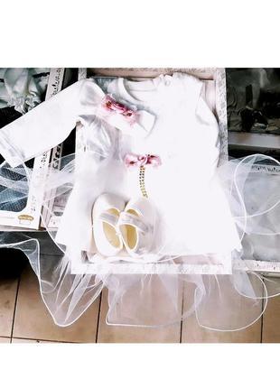 Набор на крещение в коробке