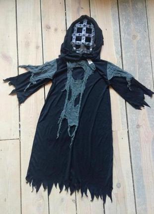 Карнавальный костюм демон палач 7-8 лет на хэллоуин