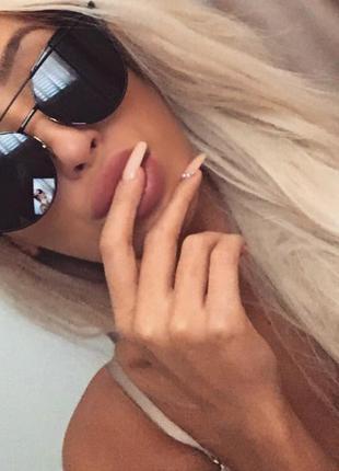 Тренд года ! стильные солнцезащитные очки r monster 2019 цвет черный оправа - металл