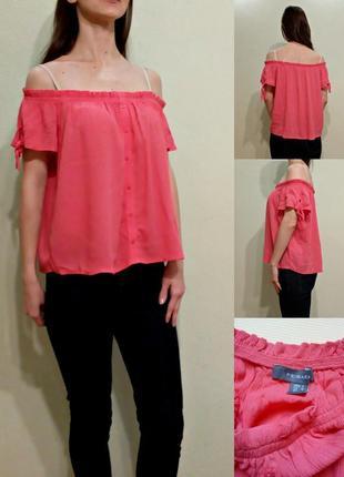 Блуза с открытыми плечами primark